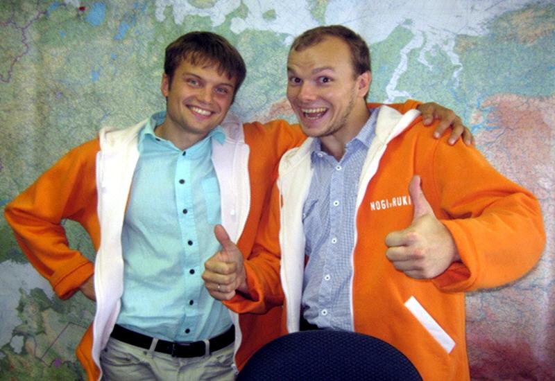 Артём Поляхов и Родион Травин - основатели федеральной сети NOGI v RUKI