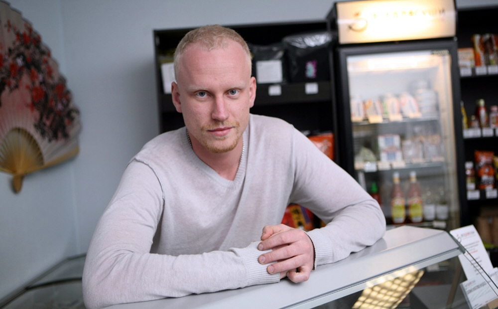 Владимир Митрофанов - владелец специализированного магазина для японской кухни Всё для суши