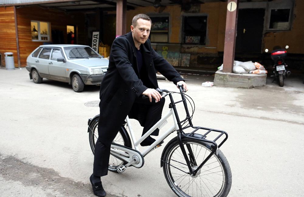 Кирилл Остапенко - основатель компании Велодрайв