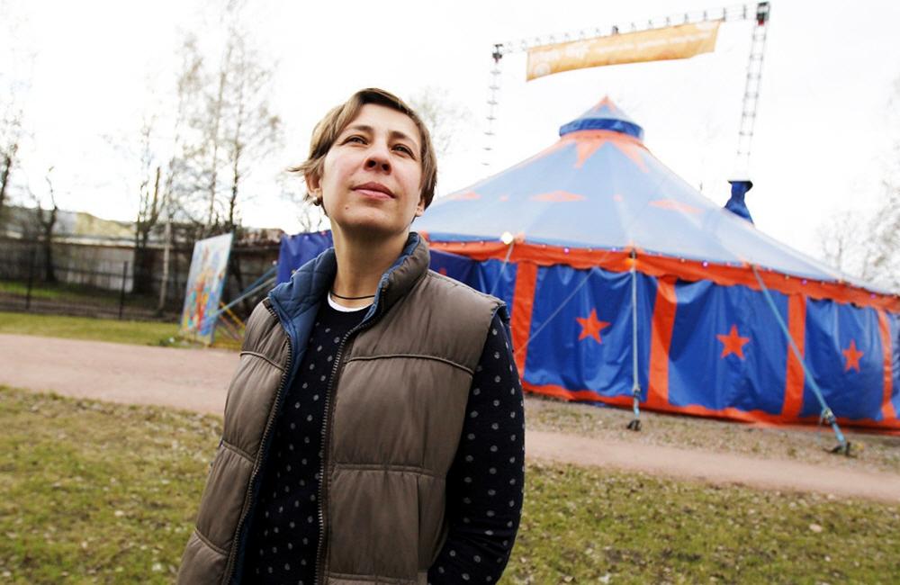 Лариса Афанасьева - директор Упсала-Цирка