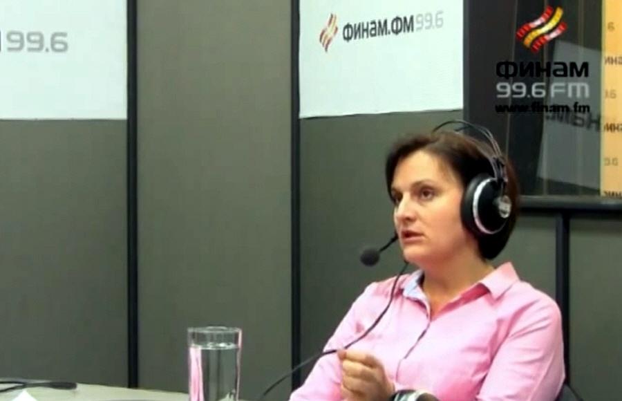 Анна Орёл в передаче Бизнес-класс на Финам ФМ