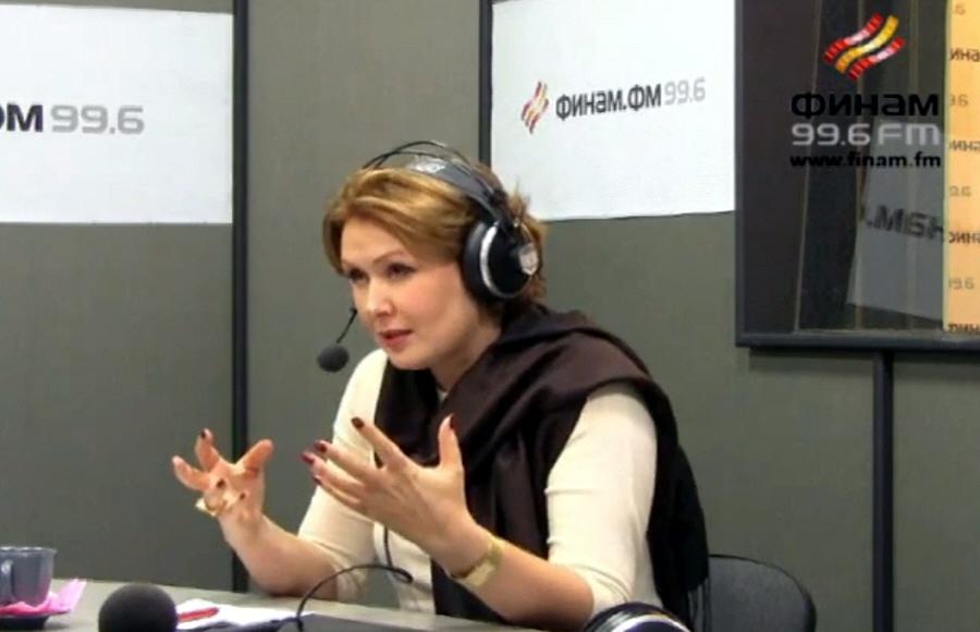 Елена Ищеева в передаче Бизнес-класс на Финам ФМ