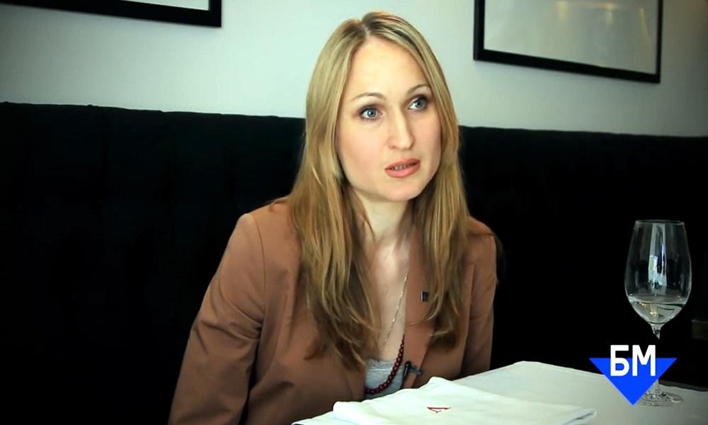 Александра Хомич в бизнес-школе Бизнес Молодость