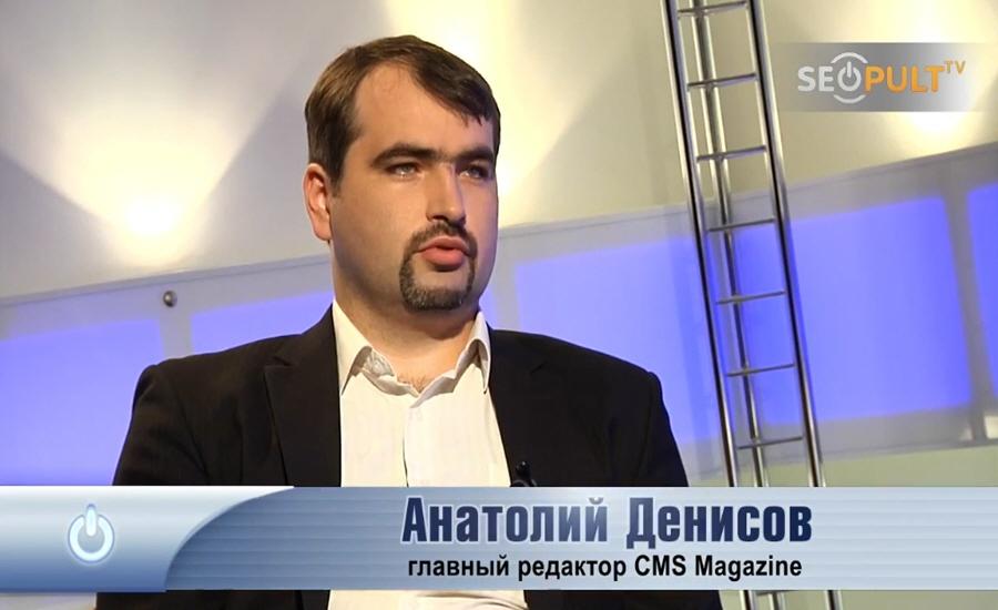 Анатолий Денисов - главный редактор информационного портала CMS Magazine