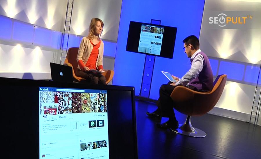 Юлия Выскребенцева в передаче Бизнес Online