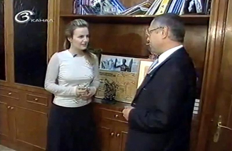 Георгий Генс в передаче Бизнес Персона на 3 канале