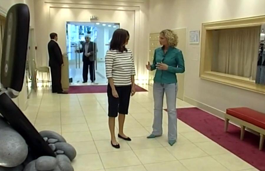 Ольга Слуцкер в передаче Бизнес Персона