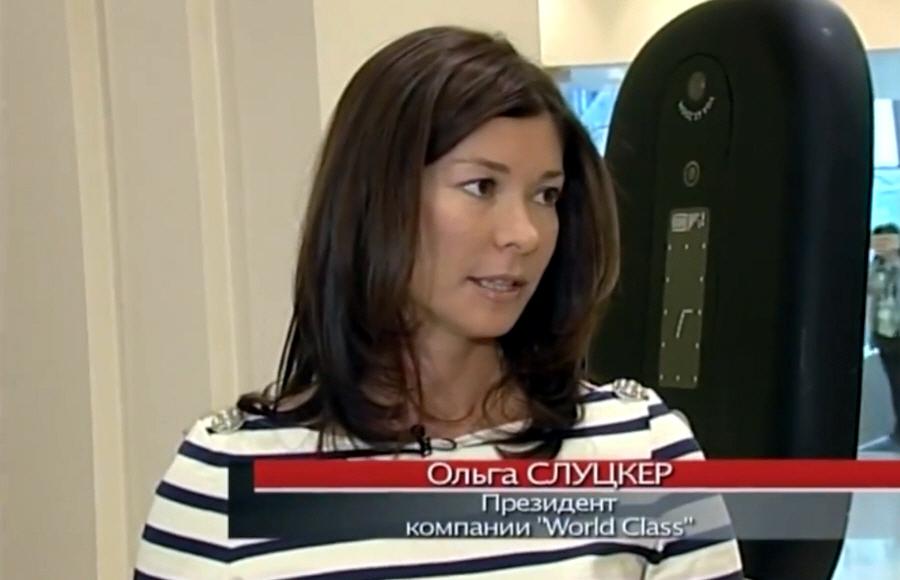 Ольга Слуцкер основатель сети фитнес-центров World Class на 3 канале