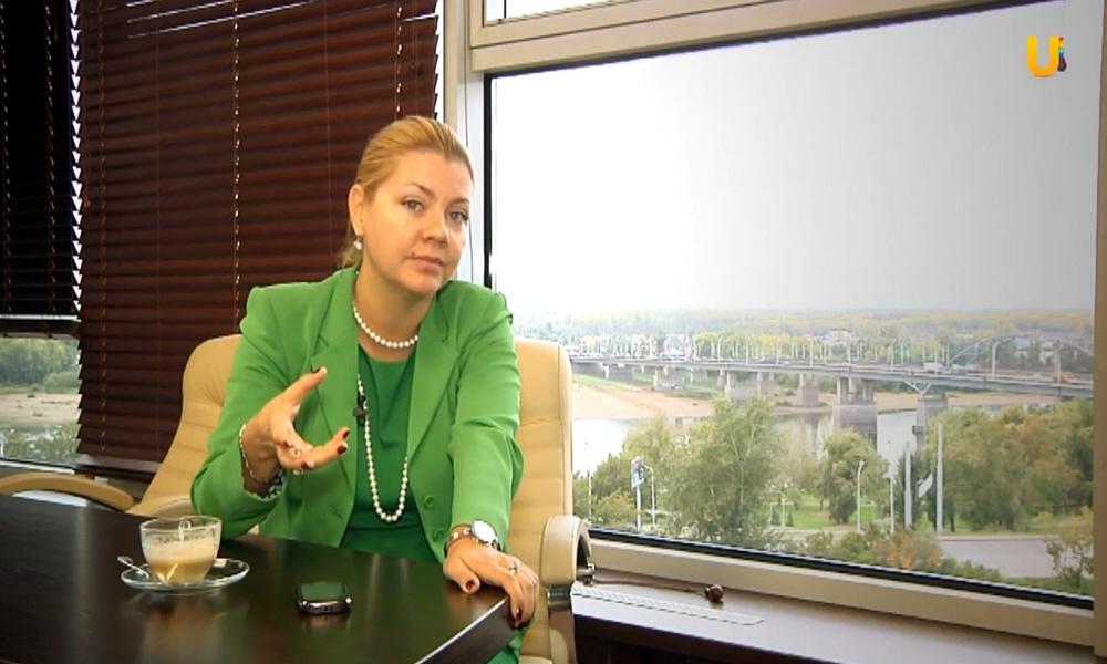 Юлия Лисицина в передаче Бизнес разборка