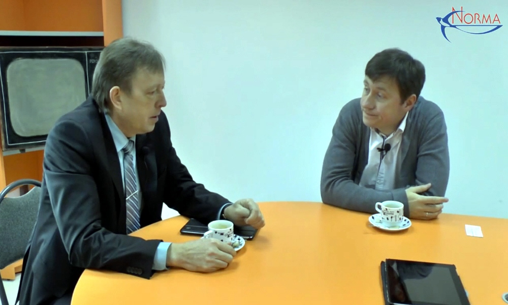 Андрей Шпорт в программе Сергея Борцова Бизнес-завтрак