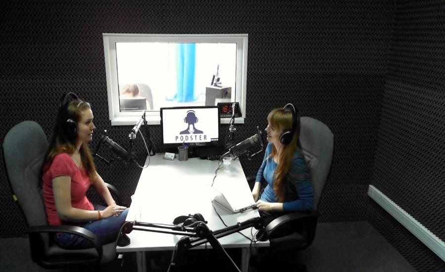 Алина Шумаева в передаче Black&White