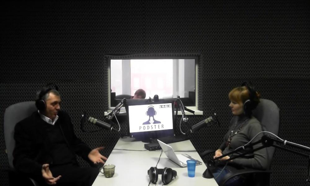 Андрей Мозолин в передаче Black&White