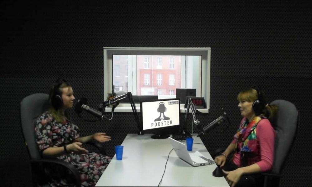 Евгения Остроумова в передаче Black&White
