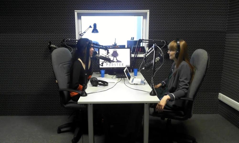 Ирина Исаченко в передаче Black&White