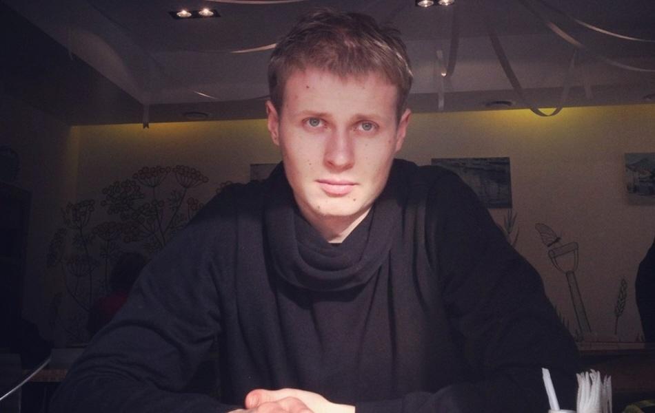 Никита Загайнов - соучредитель и директор по развитию питерского кафе здорового питания Укроп