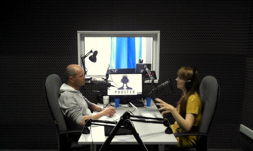 Юрий Строфилов в передаче Black&White