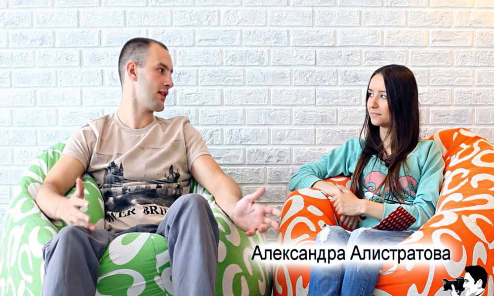 Александра Алистратова в передаче City Inside
