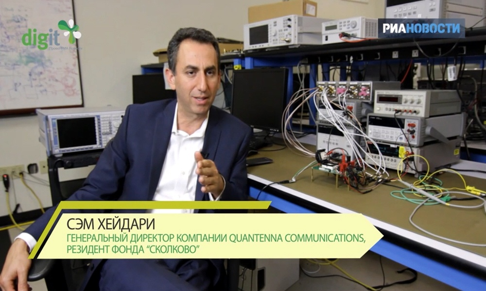Сэм Хэйдари - генеральный директор компании Quantenna communications