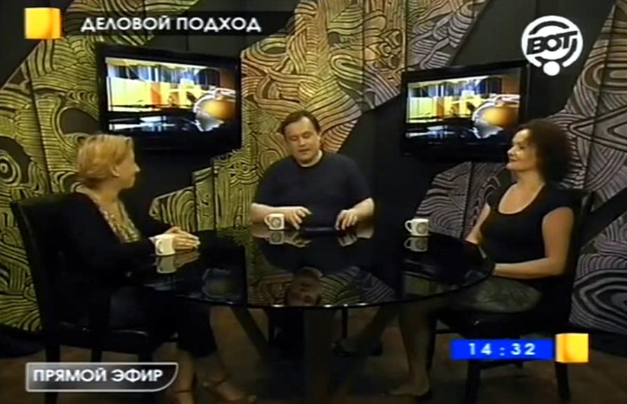 Ева Ждановская в передаче Деловой подход на телеканале ВОТ