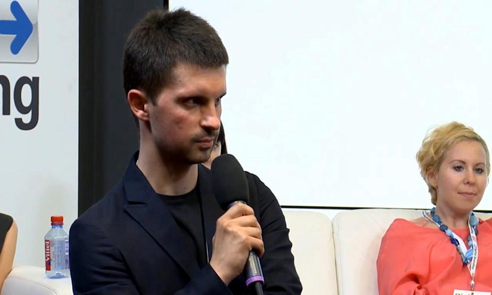Павел Кесадо-Алонсо на саммите Digital Branding