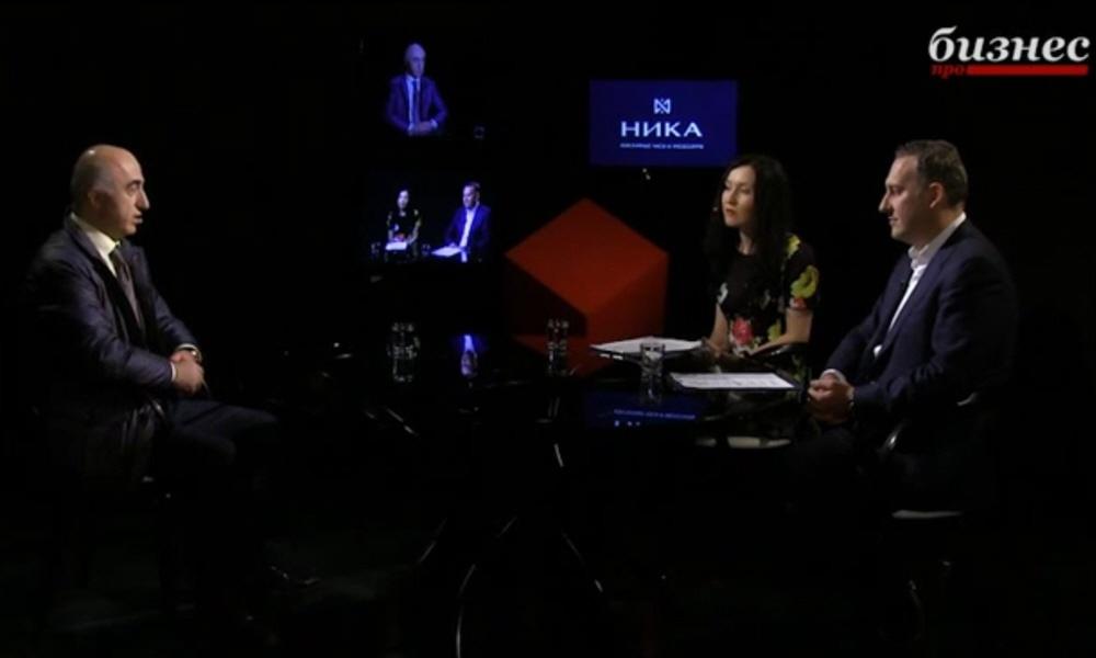 Гагик Геворкян в программе Фактор личности на телеканале ПРО Бизнес