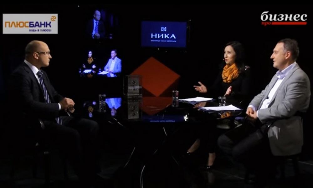 Дмитрий Волков в программе Фактор личности на телеканале ПРО Бизнес