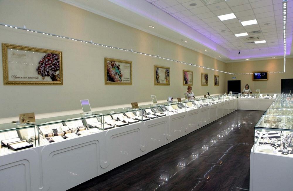 Открытие ювелирного магазина