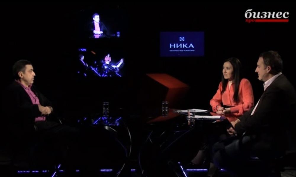 Павел Глоба в программе Фактор личности на телеканале ПРО Бизнес