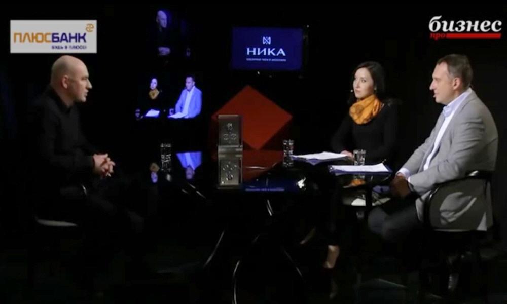 Радислав Гандапас в программе Фактор личности на телеканале ПРО Бизнес