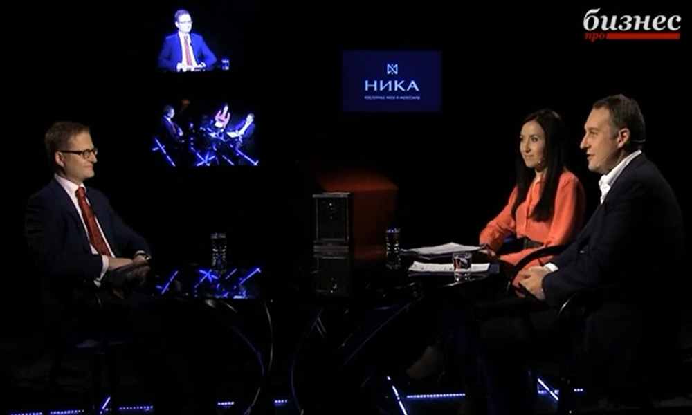 Алексей Сиднев в программе Фактор личности на телеканале ПРО Бизнес