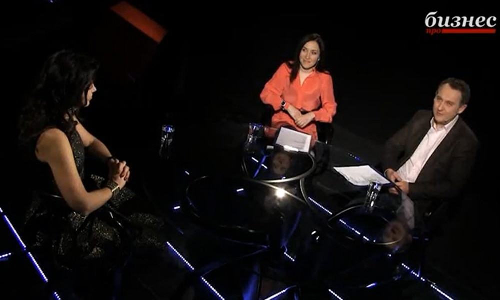 Алиса Толкачёва в программе Фактор личности на телеканале ПРО Бизнес