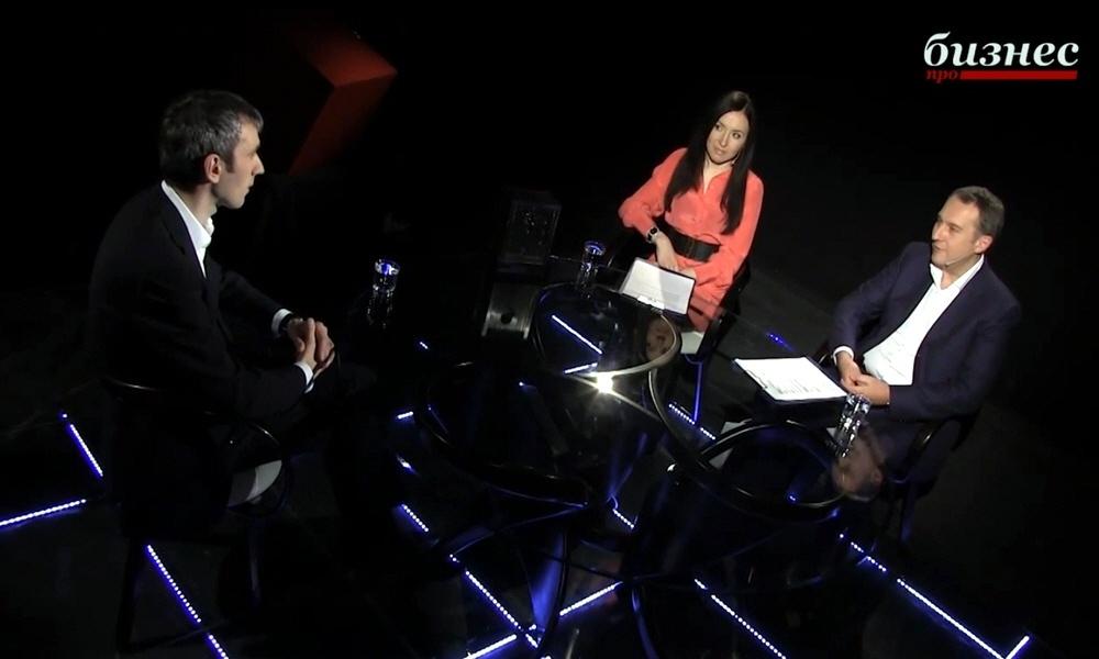 Константин Чайкин в программе Фактор личности на телеканале ПРО Бизнес