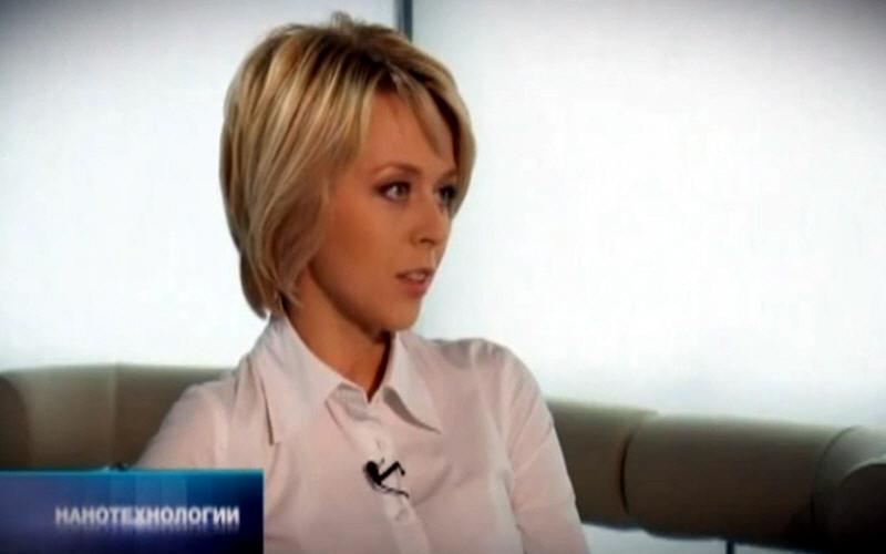 Ольга Башмарова - ведущая программы Формула бизнеса