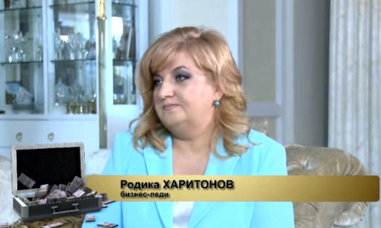 Родика Харитонов - основательница обувной компании Sandalini