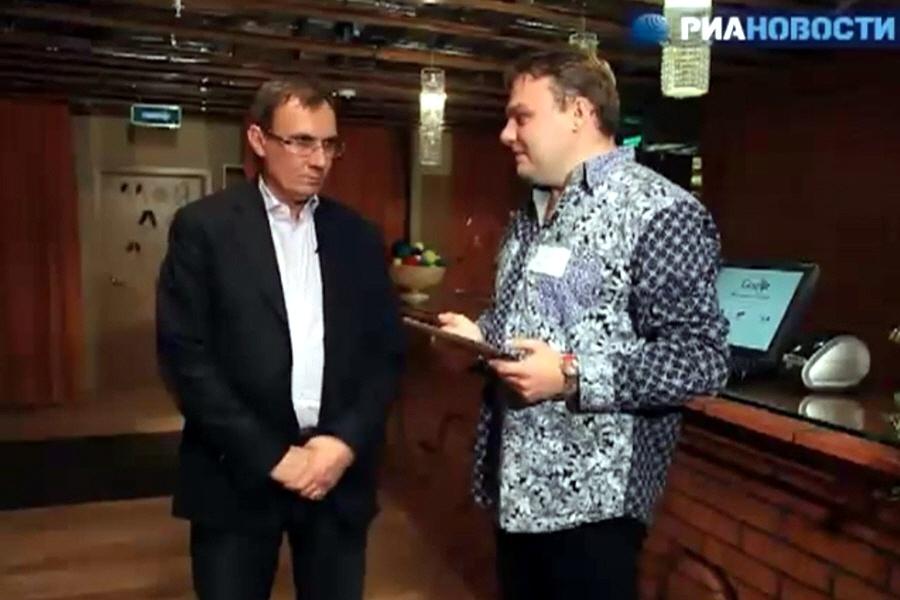 Владимир Долгов в передаче Эти ваши интернеты