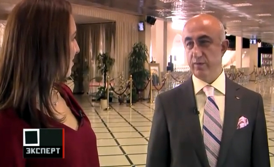 Ювелирный бизнес в России Гагик Геворкян на телеканале Эксперт