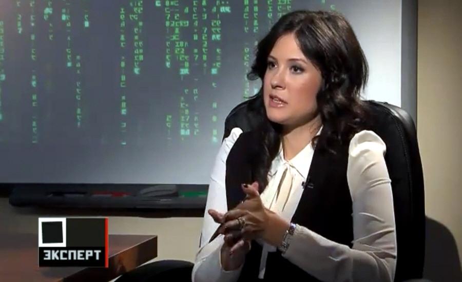 Елена Иванова Ведущая передачи Искусство бизнеса на телеканале Эксперт