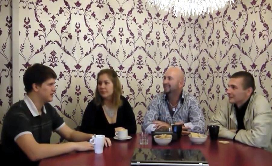 Артём Козлов и Наталья Ботнева в передаче Из грязи в Князи