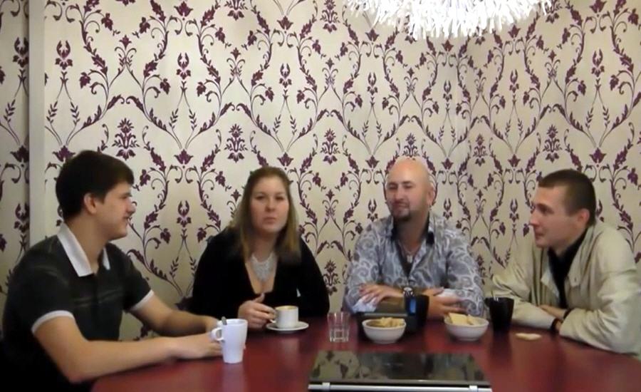 Артём Козлов и Наталья Ботнева основатели клуба Мафия в СПб Из грязи в Князи