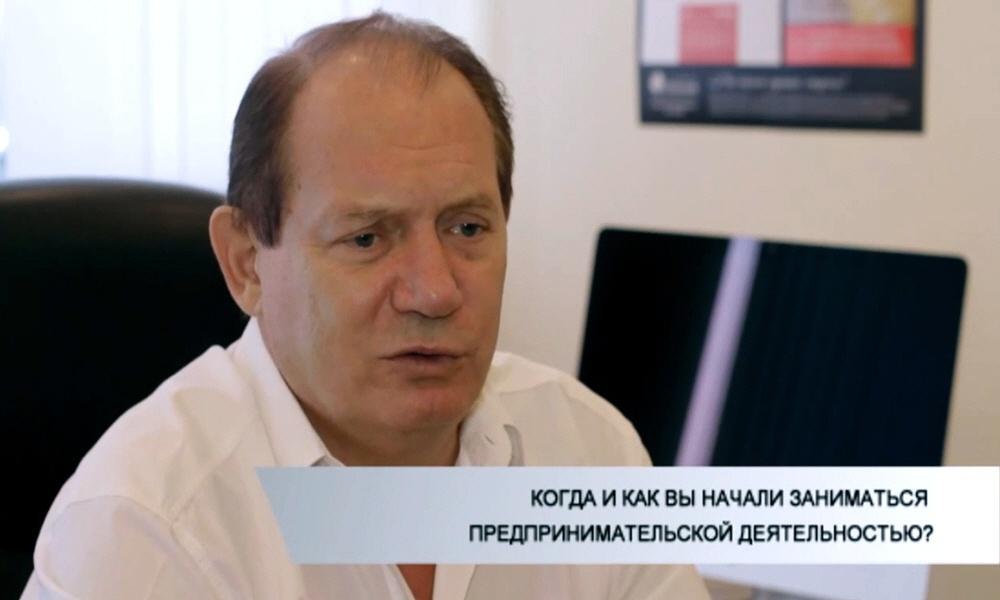 Виктор Зверев в цикле интервью Я - Предприниматель
