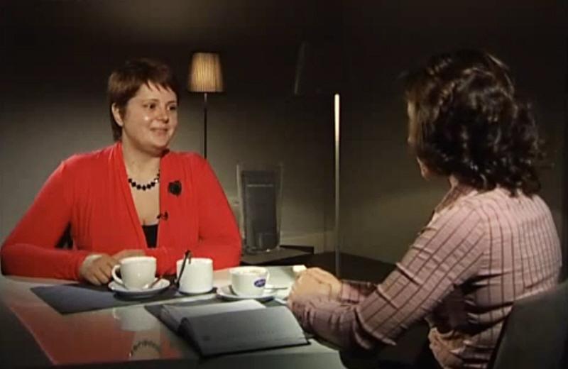 Елена Конвисар в передаче Как бизнесмен бизнесмену