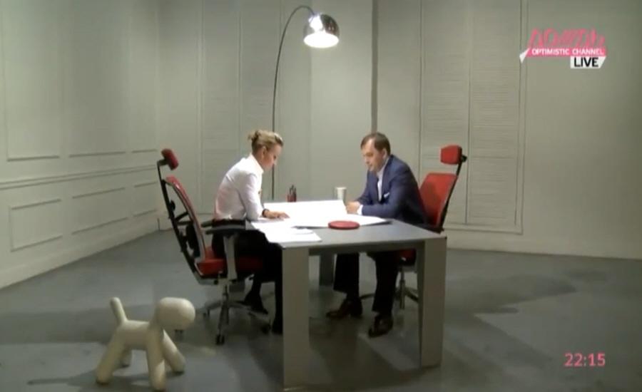 Александр Мечетин на телеканале Дождь