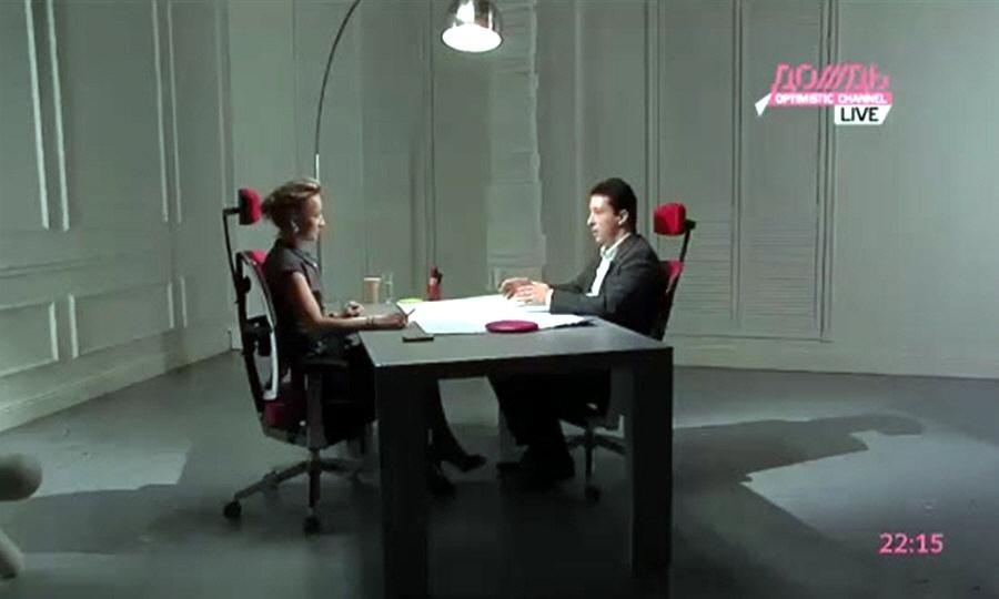 Алексей Ильин в программе Капиталисты на телеканале Дождь