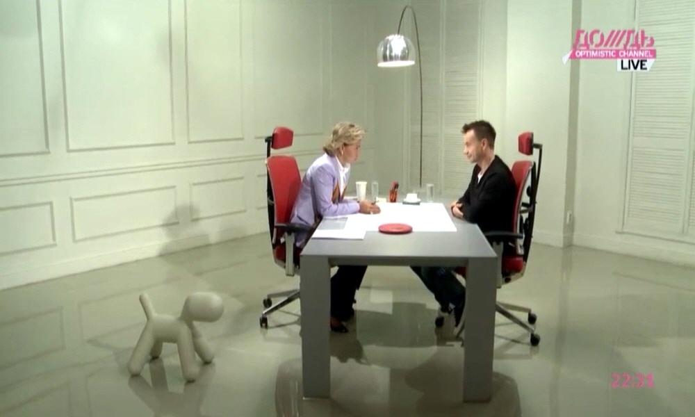 Алексей Серов на телеканале Дождь