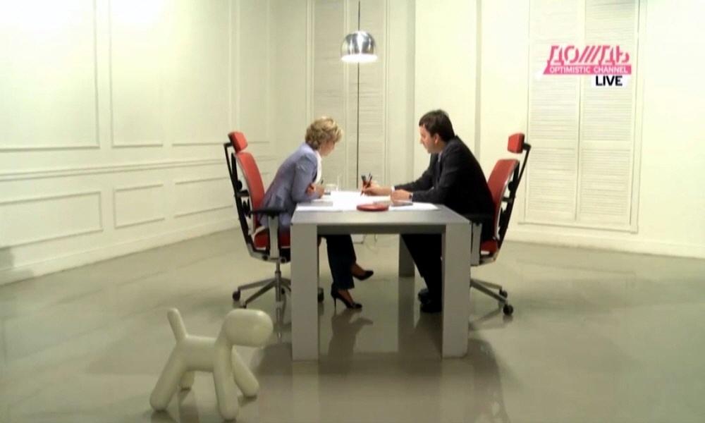 Андрей Романенко в программе Капиталисты на телеканале Дождь