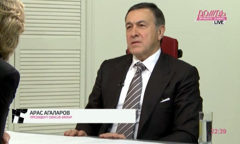 Арас Агаларов - президент строительного холдинга Crocus Group