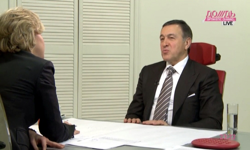 Арас Агаларов входит в сотню богатейших бизнесменов России