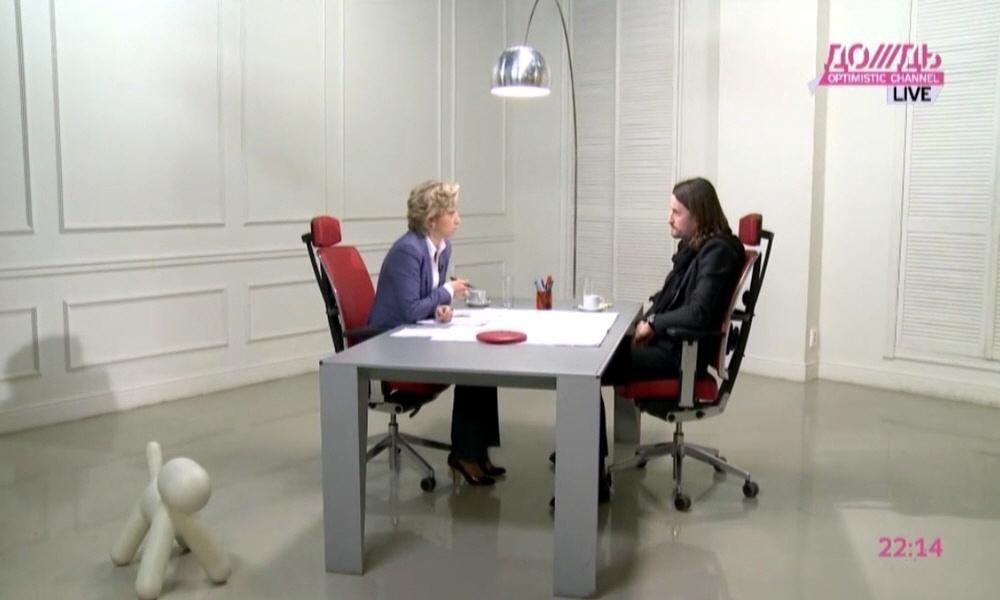 Артём Агабеков в программе Капиталисты на телеканале Дождь