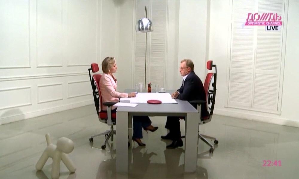 Борис Белоцерковский в программе Капиталисты на телеканале Дождь