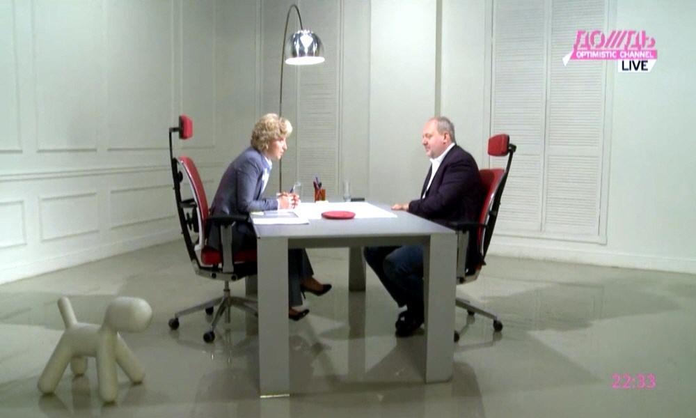 Борис Йордан в программе Капиталисты на телеканале Дождь